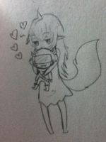 Leto with Mituna Plush by Lazuliwitch