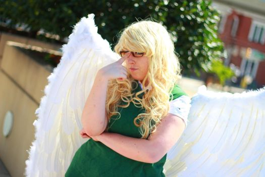 Otakon 2013 - Aziraphale(PS) 40 by VideoGameStupid