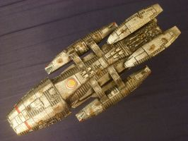 BSG-75 Galactica-Redux by Roguewing