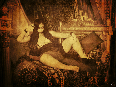 The Grand Odalisque is waiting by CharityZero