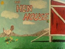 The Hen House sign by dhbraley