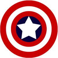 Captain America Shield by MaykoIshimura