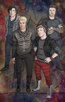 Commission - Fall Out Boy by DeanGrayson