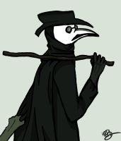 -Plague Doctor- by FireSniper197