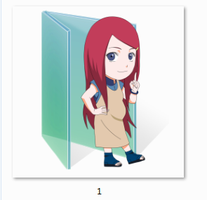 Kushina Folder Icon by Ginokami6