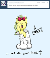 Ask Rosepetal Question 1 by DoggonePony