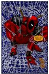 Deadpool with a Web Shooter by Merides
