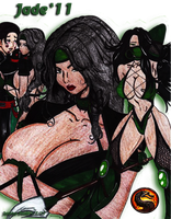 Jade for Mortal Kombat 2011 +UPDATED+ by JassyCoCo