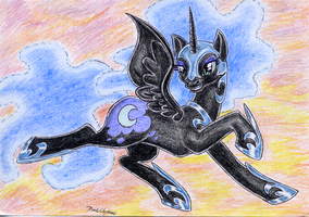 Nightmare Moon by DarkCherry87