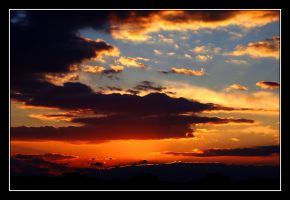 Sunset View from my Window by sharo