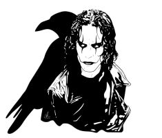 The Crow - Eric by LRitchieInk