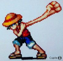 Luffy - One Piece by Cupile