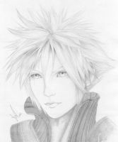 Cloud Strife by DivineImmortality