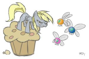 Derpy Hooves' ParaFight by yiKOmega