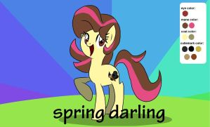 My Oc Spring Darling by thegreatrouge