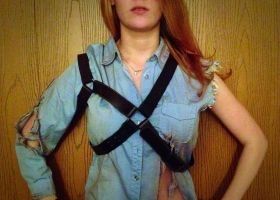 Evil Dead/Army of Darkness Shotgun Harness by endlesslistofnames