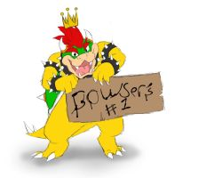 Bowser's #1 by LeemonZ