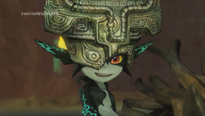 Midna - Hyrule Warriors (mirror efect) by Midna0Kildea