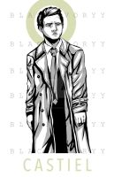 Castiel (Supernatural) by BlackIvoryy