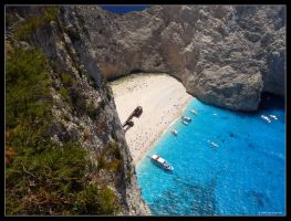 Navagio Bay by 00AngelicDevil00