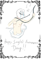 Happy Single's Awareness Day! by cream-n-cookies