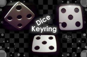 Dice of 5 - Keyring by A-McQ