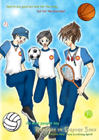 Poster with P3P Chara? XD by Icha-Klauser