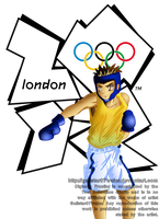 J.P. at the 2012 London Olympics by Galistar07water