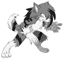 AT: Bolt the Werewolf by Kyuubi83256