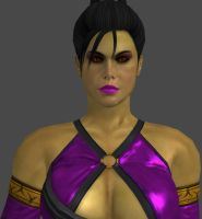 MK9 Beautiful Mileena by artemismoonguardian