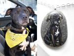 Custom Dog Pendant Necklace by sobeyondthis