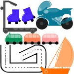 Transportation 2 PS Brushes by Zuaj