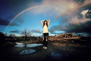 Somewhere Under the Rainbow by NatVon