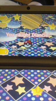 Pokmon shuffle Diancie by FoxLightstep