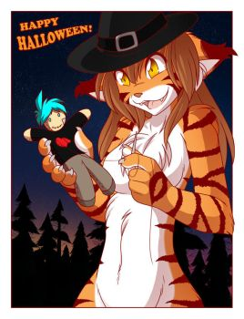 Twokinds Halloween 2012 by Twokinds