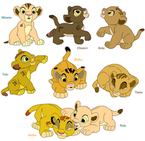 TLK Cubs! by DeadloveCalling