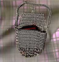 Small Chainmail Pouch by AngelWolf22