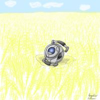 Wheatley came back by ShadowSilverfan1997