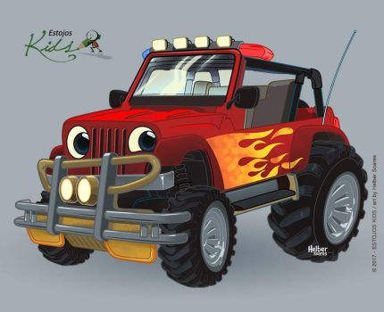 color - XTREME CAR - character by HelberS