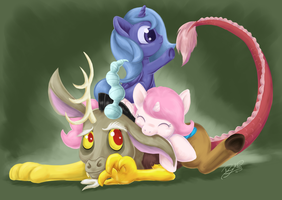 Pile on Discord by DawnAllies