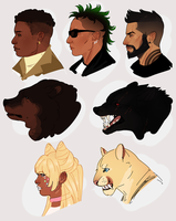 some ocs by SAlB0T