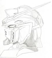 Wing Gundam Sketch by MrDraftsman