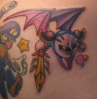 Meta Knight tattoo by BabyVegeta