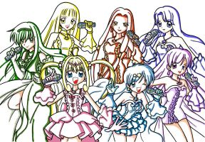 Mermaid Melody... I only color by chikky