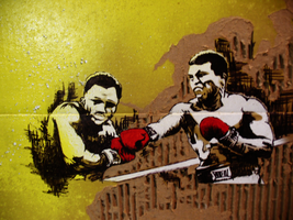 Ali vs Frazier by CaseyAtwell