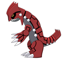 Groudon by AwokenArts