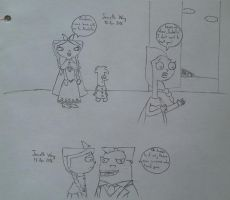 Phineas and Ferb: Frozen AU 1 by JeanetteWong98