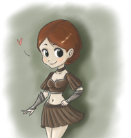 Cute Warden by mary90