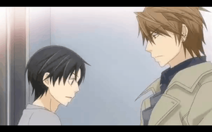 Yukina says everything about himself to Kisa - Gif by Deathday94991313