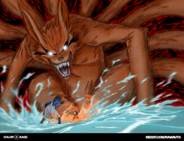 Naruto 228 - The Kyuubi Unleashed by Desorienter